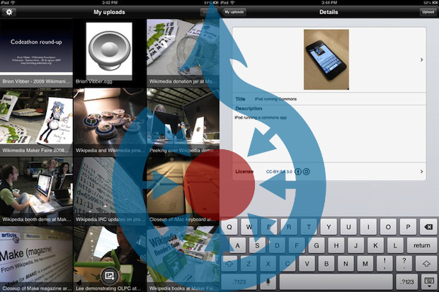 Wikimedia Now Lets You Contribute to Its Archive With a New Smartphone App wikicommonsappheader