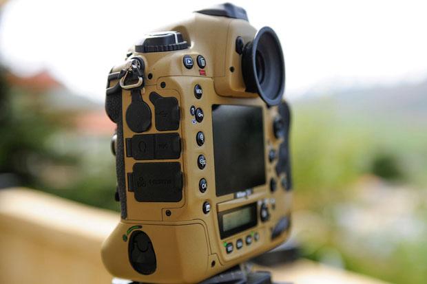 Photographer Gives His Nikon Gear a DIY Desert Mirage Lizard Paint Job GzR9Pjv
