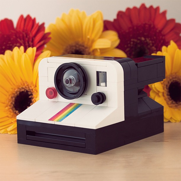 This LEGO OneStep Instant Camera Can Eject a Tiny Polaroid Picture legoonestep