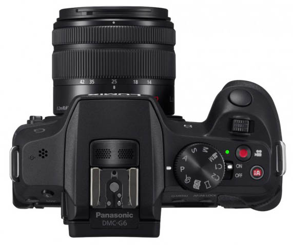 Panasonic Unveils G6 Micro Four Thirds and LF1 Compact Cameras g6top