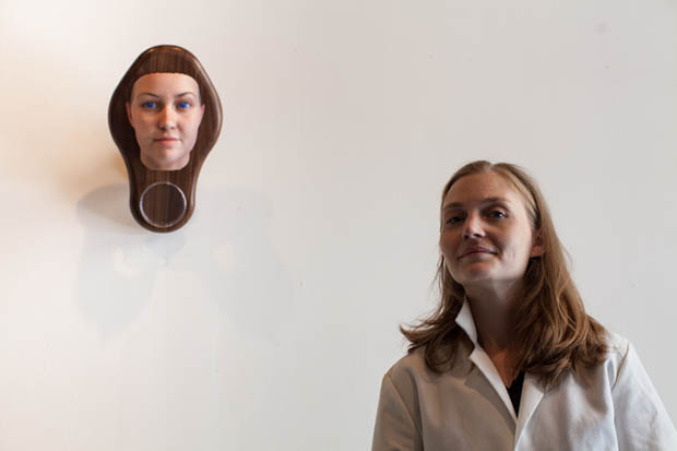 Artist Uses Found DNA Data to Generate Photo realistic Portraits artist