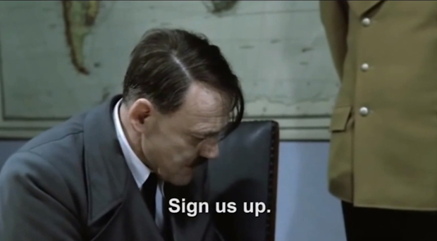 Hitlers Reaction to Adobes New Creative Cloud Model hitlercreativecloud