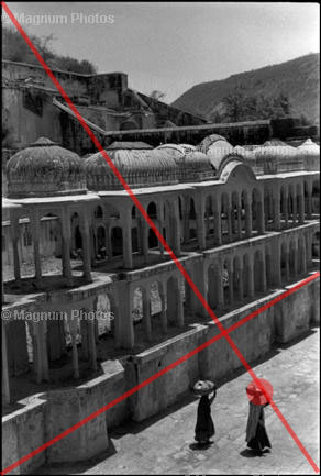 Learn Composition from the Photography of Henri Cartier Bresson Henri Cartier Bresson Waiting 003 Overlay