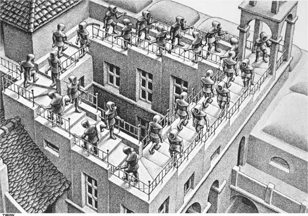 Learn Composition from the Photography of Henri Cartier Bresson escher