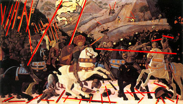 Learn Composition from the Photography of Henri Cartier Bresson Uccello Battle Of San Romano Lances