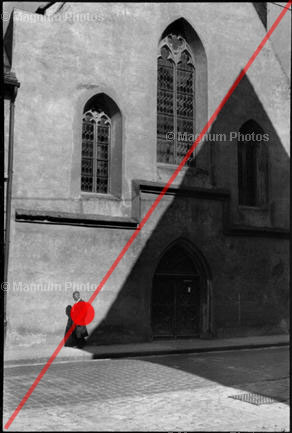Learn Composition from the Photography of Henri Cartier Bresson Henri Cartier Bresson Shadow 007 Overlay