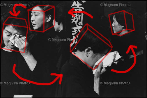 Learn Composition from the Photography of Henri Cartier Bresson Henri Cartier Bresson Japan Overlay