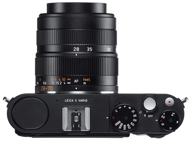 Mini M Now Official: Leica Finally Unveils the X Vario APS C Compact Camera leicaxvariotop