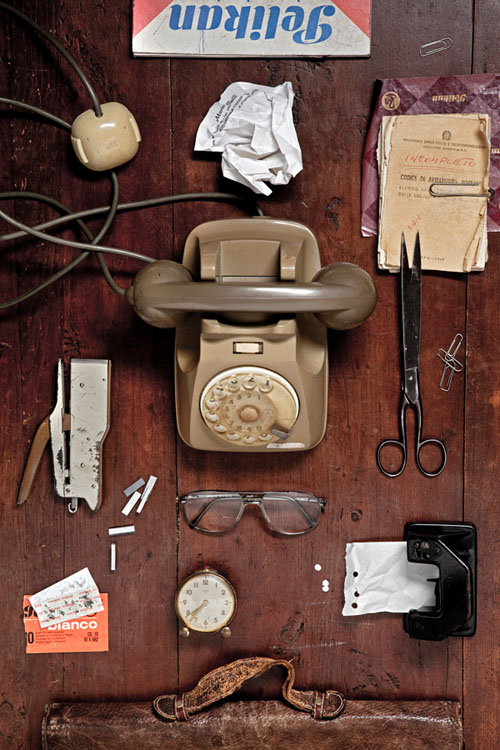 Photographer Creates Portraits of Family Members by Shooting Possessions bd836d414ced5fc55a46d995d1887ca2 copy