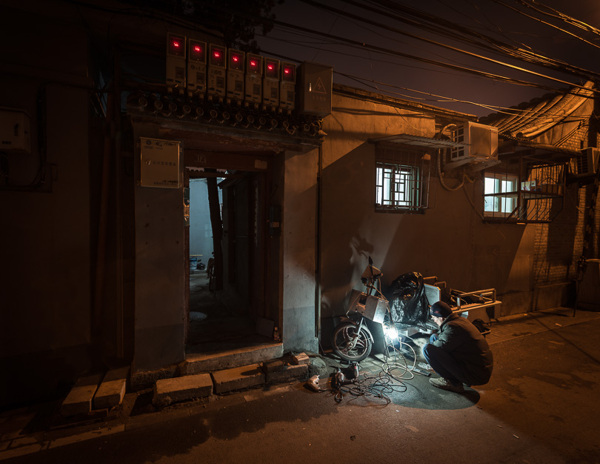 Out With the Old, In With the New: Photos that Show the Modernization of Beijing hutong2