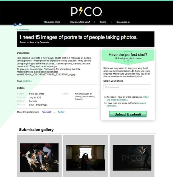PicoImages Hopes to Shake Up the Stock Industry Through Crowdsourcing pico4