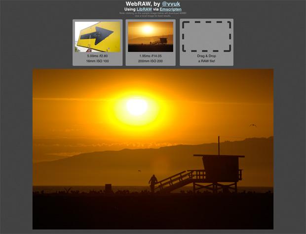 WebRAW Utlility Introduces Simple RAW Viewing to Firefox WebRAW Screencap