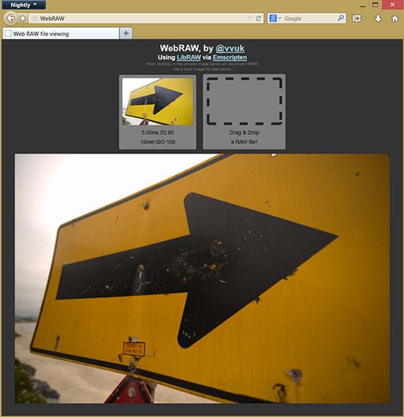 WebRAW Utlility Introduces Simple RAW Viewing to Firefox webrawhead