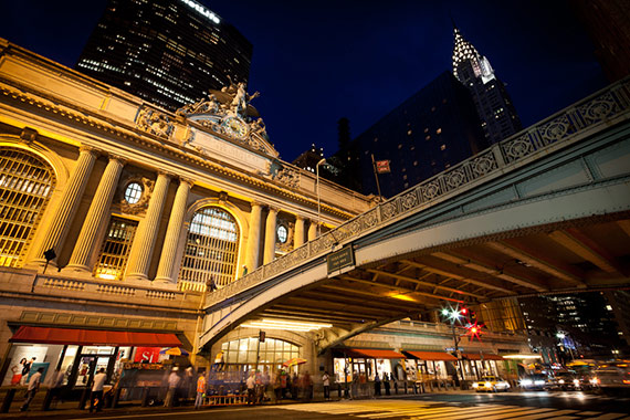 """""""Grand Central Station and Chrysler Building"""" captured by James Maher."""