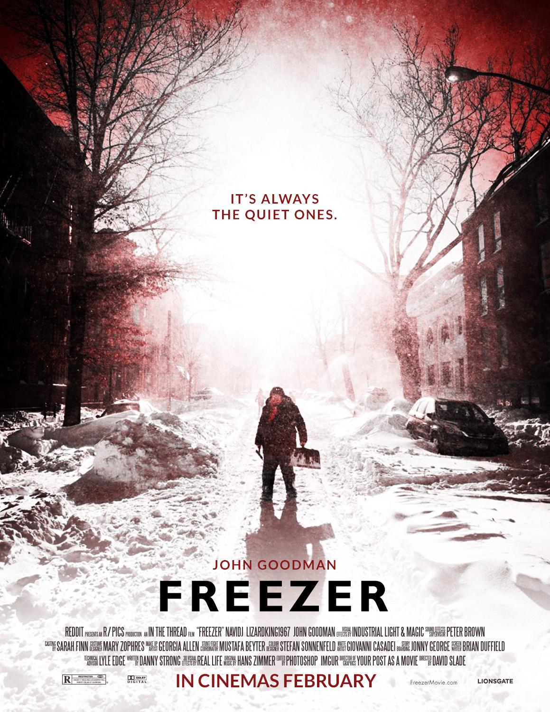 fake movie poster of new york blizzard