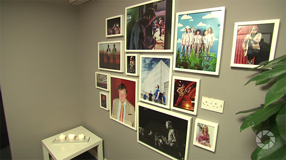 personalize your studio wall